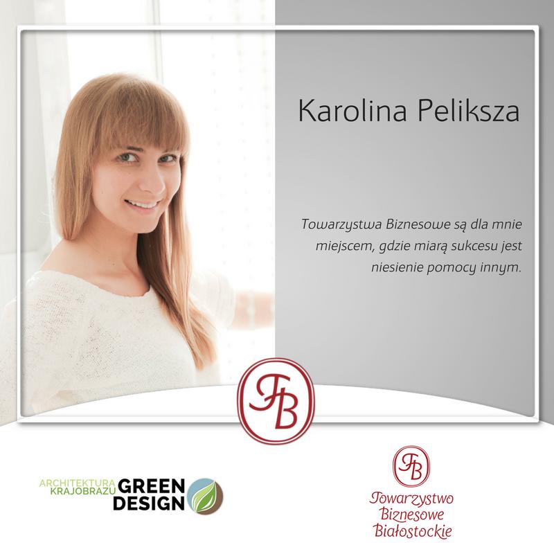 Karolina Peliksza Green Design Architektura Krajobrazu Towarzystwo Biznesowe